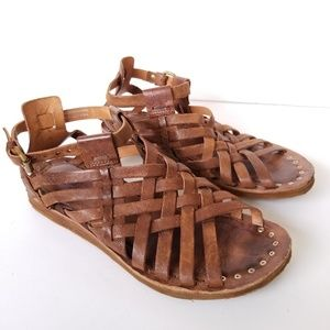 A.S. 98 Ralston Interweave Sandal Leather Upper